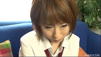 Yui Misaki In Her School Uniform Bent And Fucked