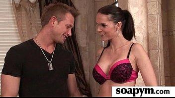 hot soapy body massage 15