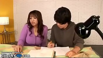 Japanese Home T eacher In Stockings Provokes S ings Provokes Student