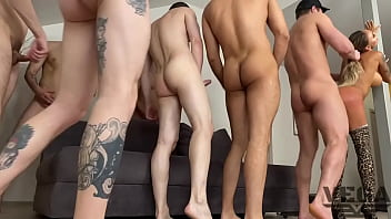 """EIGHT HOT GUYS FUCKED HARD AND PISSED OFF MONICA FOX 3 <span class=""""duration"""">6 min</span>"""