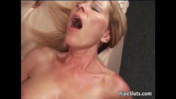 Blonde mature breast Slutty blonde milf with huge breasts