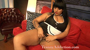 Hot latina tranny Demii nova latin tranny maid ass worship and anal fucking transsexual ts shemale