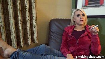 Maria Jade IRL Smoking Interview 9 min
