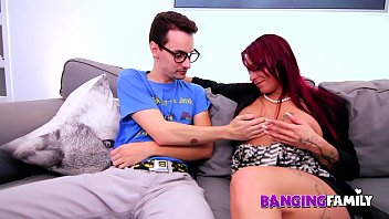 Banging Family - Threesome with Dad and Step-Mommy