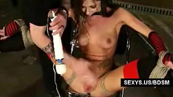 Beauty model bondage