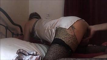Amoul Solo, T&A 683 (07) - 穿着我的缎面内衣、内裤、高跟鞋、丝袜来操我