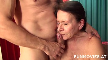 Horny Redhead German Granny porno izle