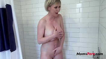 Horny Mother Fucks Son In The Shower- Dee Williams