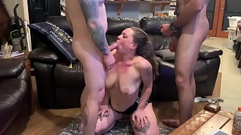 Hotwife Shelbi Dd Getting Tag Teamed By Hubby & Friend