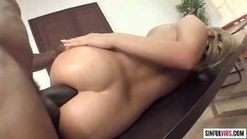 3 cocks in 1 pussy Big willy push hard his huge fat dick into bibi noels tight asshole - deep anal drilling 3 scene 1