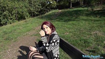 Public Agent Hot Redhead Lola Fae fucked by Euro guy