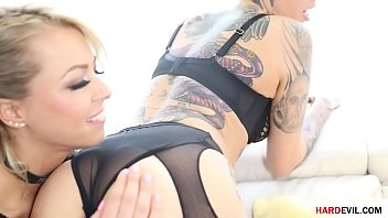 Squirting project and some anal by Zoey Monroe, Leigh Raven