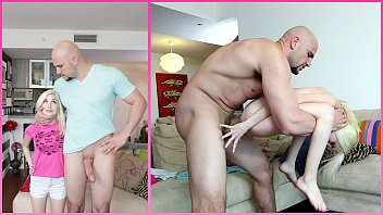 BANGBROS - J-Mac Smashes Teen Piper Perri's Tight Little Pussy, Shows No Mercy