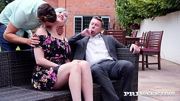 Private.com - Swinging Brit Misha Mayfair DP'd By 2 Cocks! thumbnail