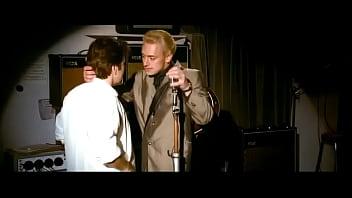 Con O'Neill and JJ Feild Gay Kisses from movie Telstar - The Joe Meek Story   GAYLAVIDA.COM