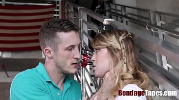 Stealing 18Yo Teen Blonde Punished And Force Fucked- Anastasia Knight