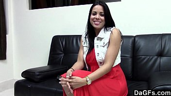 Dagfs - Awesome Busty Latina Suck And Fuck During An Audition