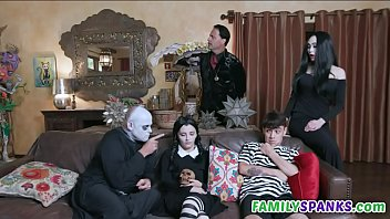 Adams Family Doing Wild Orgy 7 min