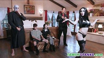 Adams Family Do ing Wild Orgy