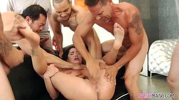 Karlee Grey Vs 8 Guys