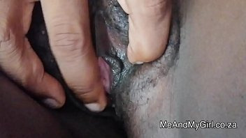 Fingering African Pussy