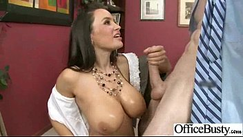 Image: Sex Tape With (lisa ann) Big Tits Hard Worker Girl In Office clip-22
