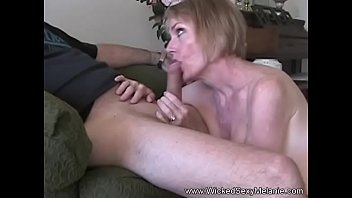 Blowjob GILF Drinks The Cum