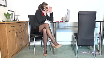 AuntJudys - Stunning 35yo MILF Tina Kay at the Office