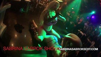 SABRINA SABROK XXX LIVE SHOW