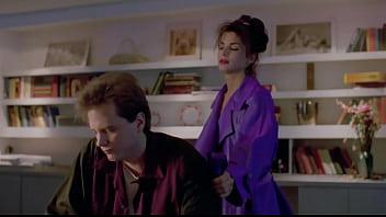 Sandra Bullock dominates her man in 90's movie