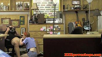 Redhead pawnee riding broker for extra money
