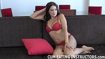 You can cum but you are going to have to eat it CEI