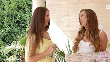 Capri Anderson with Angelina Brill doing lesbian sex on Sapphic Erotica