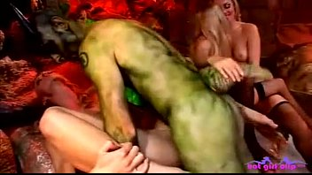 Hot group sex party in hell - Anal Movies & Blonde Clips