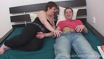 Young stud gets to fuck his stepmom