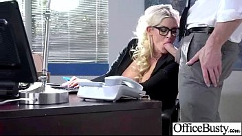(julie cash) Sexy Busty Office Girl Bang Hardcore Style video-18