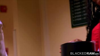 BLACKEDRAW BBC-thirsty Besties Avi & Kira pickup a stranger
