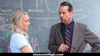Innocenthigh - Angry School Girls (Audrey Royal) (Emma Hix) 3Some With Teacher