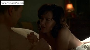 Paz de Huerta laying naked on the bed From Boardwalk Empire