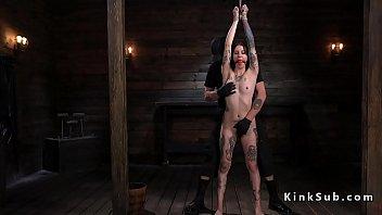Alt Slave Spanked And A. In Bondage