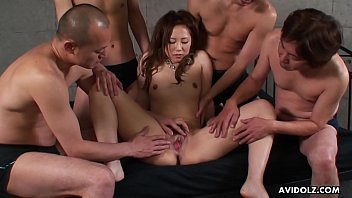 Boys using sex toys - Riru used up by the boys and teased with all pointy things