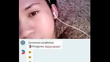 Teen Philippina likes watching me Jerk and Cum