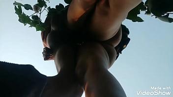 Field sex Fucking her in my sisters field