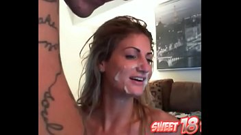 Sweet anal honey has a long screw session