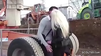 Stranger Fuck German Big Tit Teen Outside And Cum In Face
