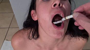 Human ashtray girl 6分钟