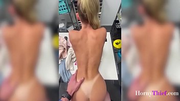Blonde Teen Girl Caught Stealing And Punished- Emma Hix