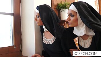 Bizzare porn with catholic nuns! With monster! porno izle