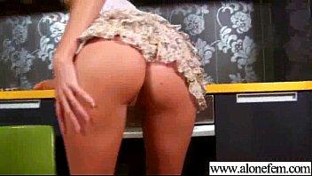 Hot Girl Using Crazy Things To Masturbate video-26
