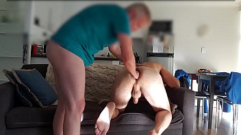 Do all gay people fisting Top stretches bottoms hole between fucks